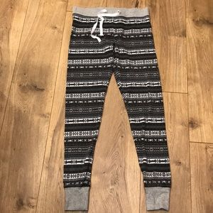 Gap body printed joggers